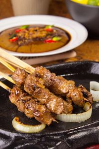 Sate tegal laka-laka merupakan salah kuliner yang wajib untuk dicoba