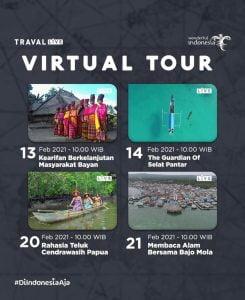 virtual tour oleh kemenparekraf